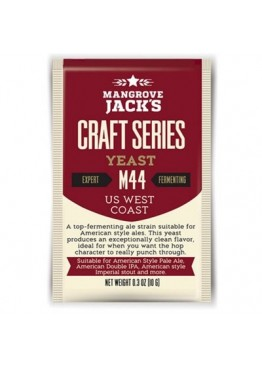 Дрожжи пивные Mangrove Jack's US WEST COAST M44, 10 гр