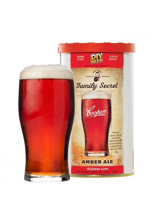 Thomas Coopers Family Secret Amber Ale, 1.7 кг