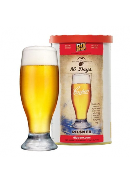 Thomas Coopers 86 Days Pilsner, 1.7 кг